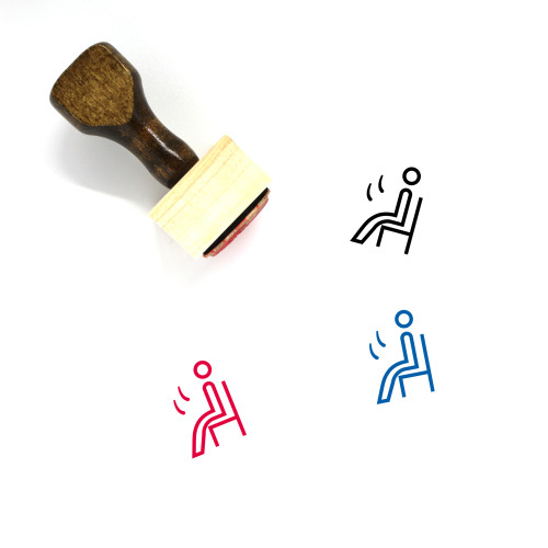 Customer Wooden Rubber Stamp No. 202