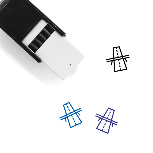 Road Self-Inking Rubber Stamp No. 89