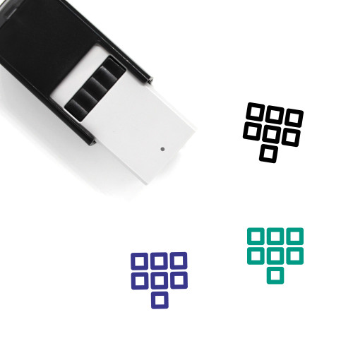 Figure Self-Inking Rubber Stamp No. 55