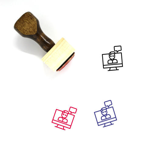 Customer Wooden Rubber Stamp No. 203