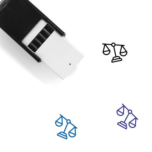 Law Self-Inking Rubber Stamp No. 299