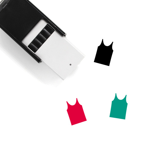 Tank Top Self-Inking Rubber Stamp No. 71