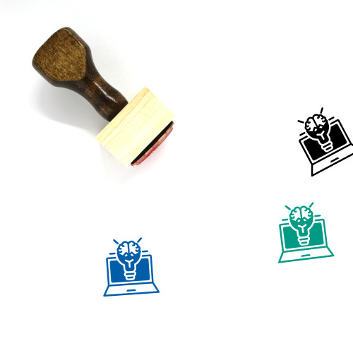 Creative Campaigns Wooden Rubber Stamp No. 1