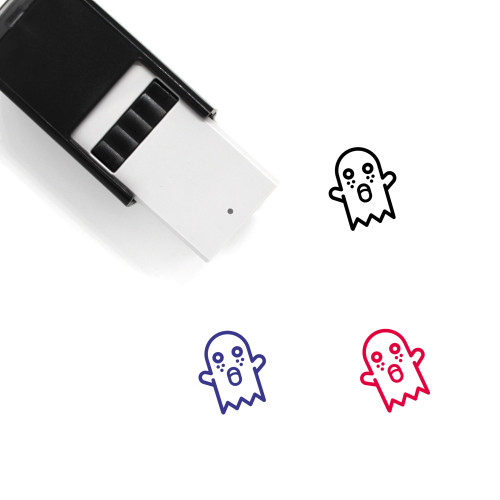 Ghost Self-Inking Rubber Stamp No. 50