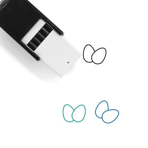 Eggs Self-Inking Rubber Stamp No. 135