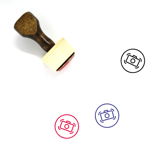 Image Stabilization Wooden Rubber Stamp No. 1