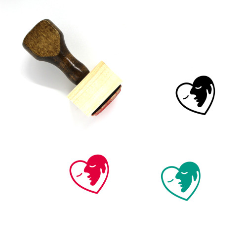 Love Wooden Rubber Stamp No. 704