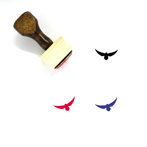 Hawk Wooden Rubber Stamp No. 27