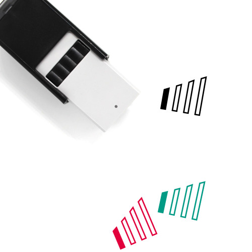 Phone Signal Self-Inking Rubber Stamp No. 21