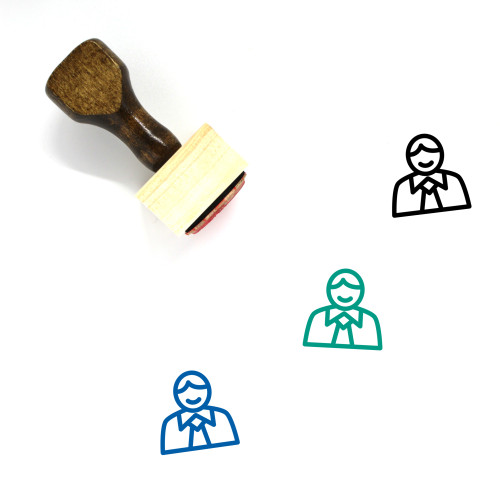 Accountant Wooden Rubber Stamp No. 13
