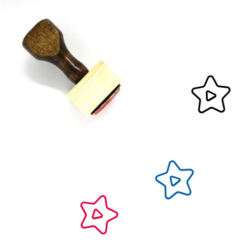 Play Wooden Rubber Stamp No. 321