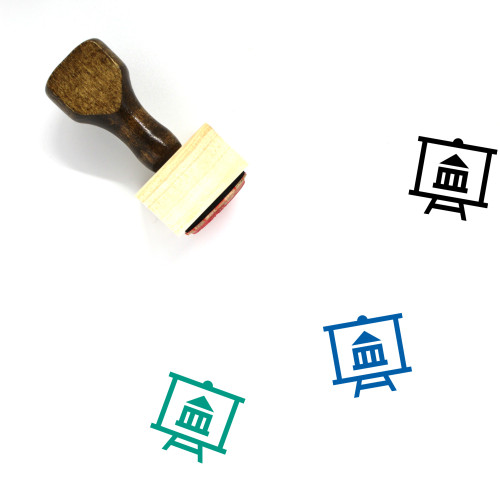 Bank Board Wooden Rubber Stamp No. 1