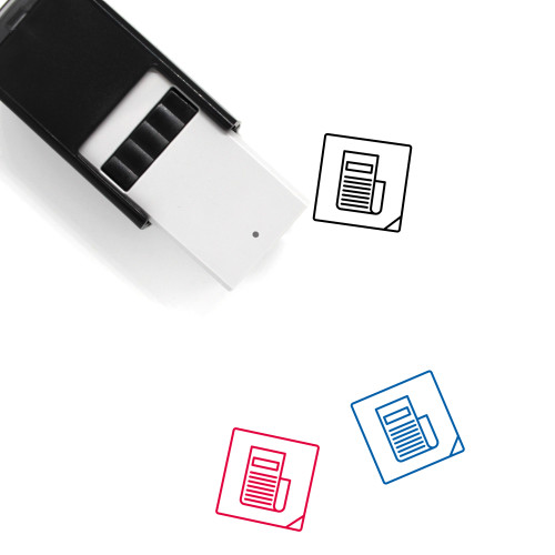 Apk Self-Inking Rubber Stamp No. 12