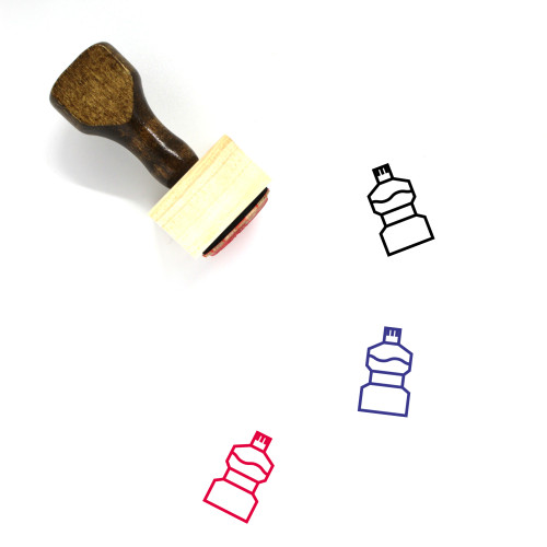 Care Wooden Rubber Stamp No. 120