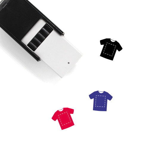 T Shirt Self-Inking Rubber Stamp No. 134