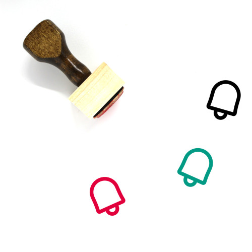 Notification Wooden Rubber Stamp No. 93