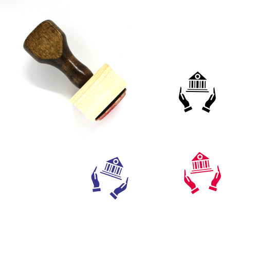 Protect Wooden Rubber Stamp No. 157