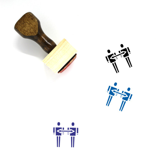 Switch User Wooden Rubber Stamp No. 22
