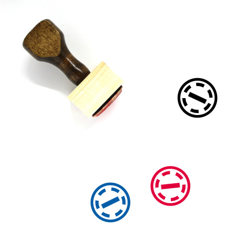 Deselect Wooden Rubber Stamp No. 4
