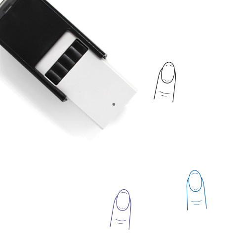 Manicure Self-Inking Rubber Stamp No. 39
