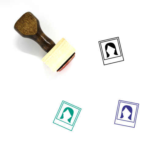 Photograph Wooden Rubber Stamp No. 41