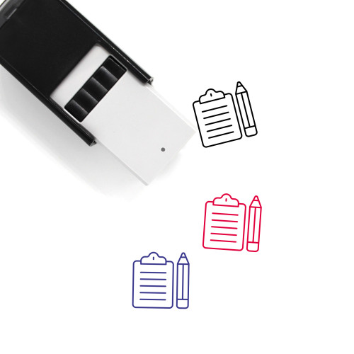 Reporter Self-Inking Rubber Stamp No. 5