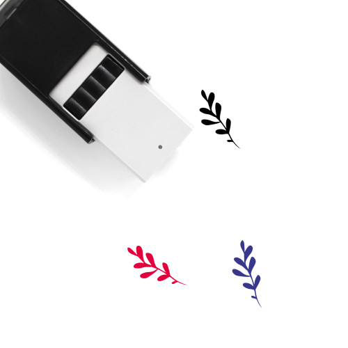 Aromatic Herbs Self-Inking Rubber Stamp No. 21