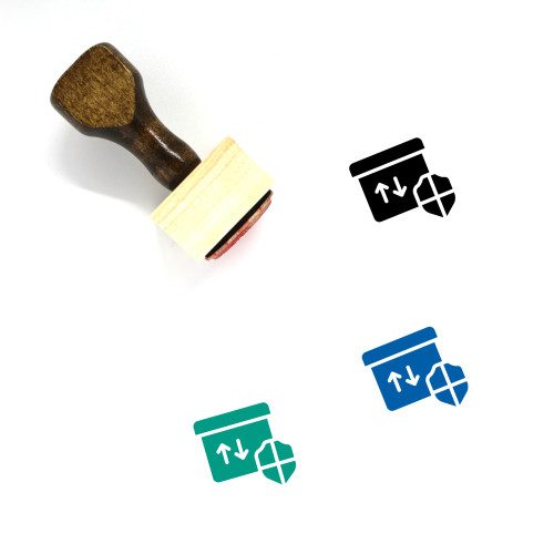 Access Wooden Rubber Stamp No. 39