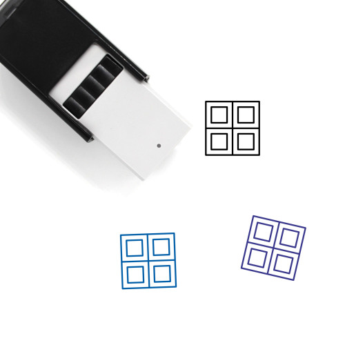 Applications Self-Inking Rubber Stamp No. 45