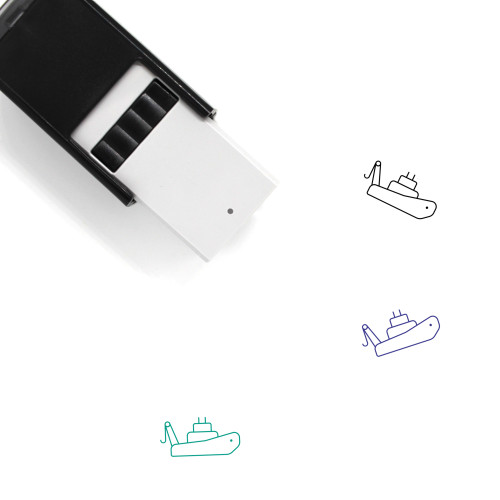 Tugboat Self-Inking Rubber Stamp No. 5