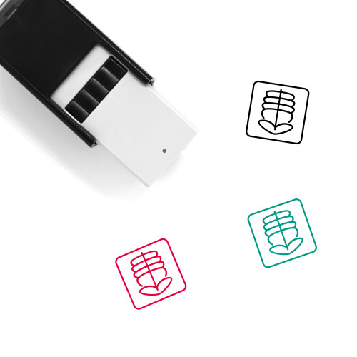 X Ray Self-Inking Rubber Stamp No. 43