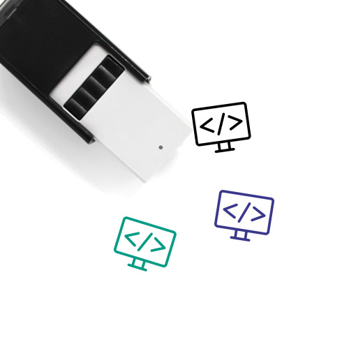Code Self-Inking Rubber Stamp No. 111