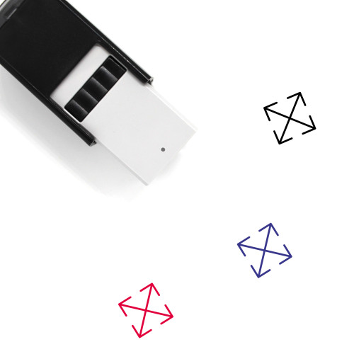 Move Self-Inking Rubber Stamp No. 126