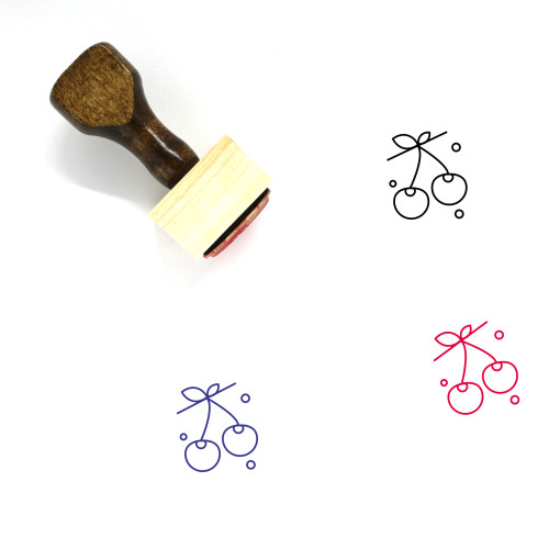 Berry Wooden Rubber Stamp No. 47