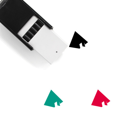 Pyramid Self-Inking Rubber Stamp No. 79