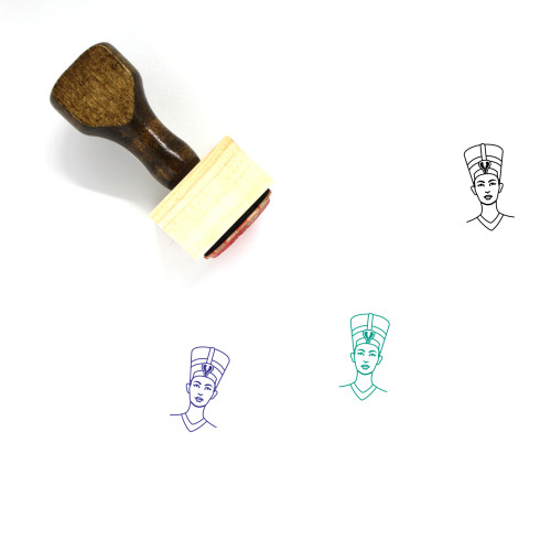 Egyptian Wooden Rubber Stamp No. 19