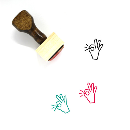 Perfect Wooden Rubber Stamp No. 2