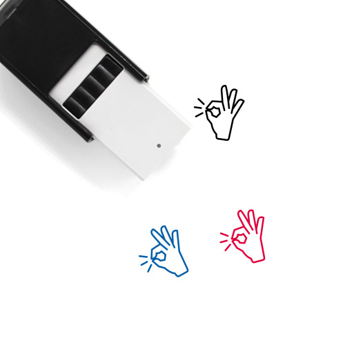 Perfect Self-Inking Rubber Stamp No. 2
