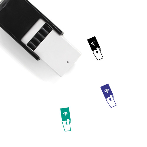 Wifi Password Self-Inking Rubber Stamp No. 16