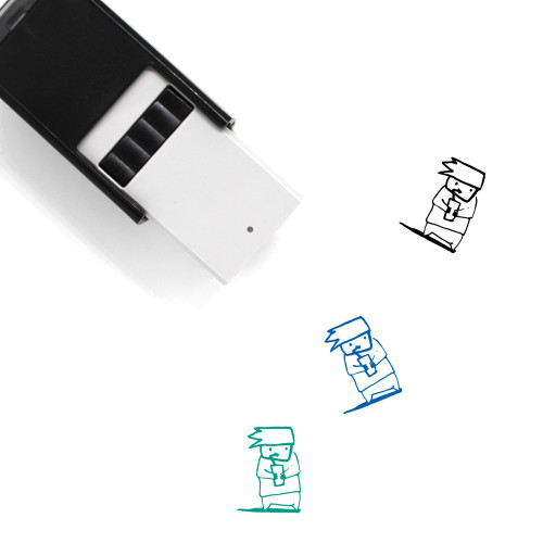 Drink Self-Inking Rubber Stamp No. 115