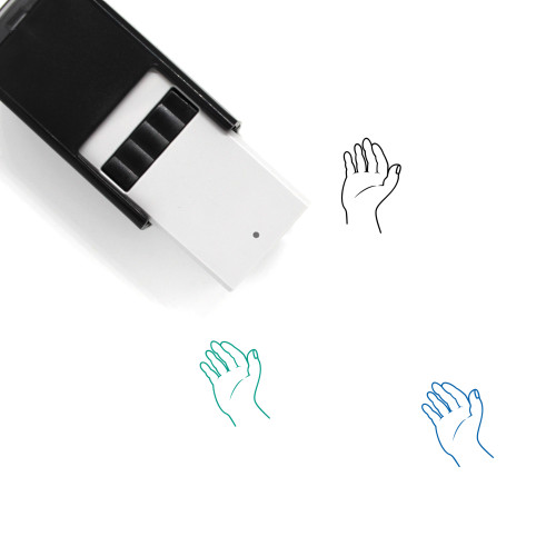 Hand Self-Inking Rubber Stamp No. 406