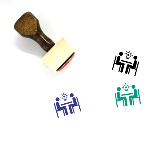 Idea Wooden Rubber Stamp No. 115