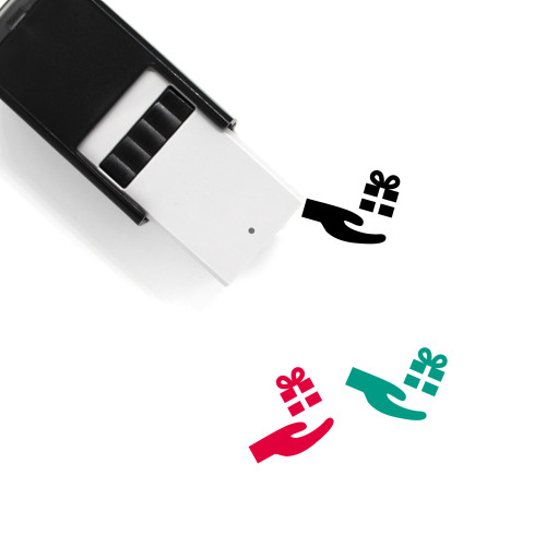 Give Gift Self-Inking Rubber Stamp No. 1