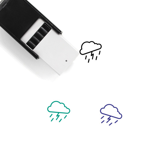 Storm Self-Inking Rubber Stamp No. 58