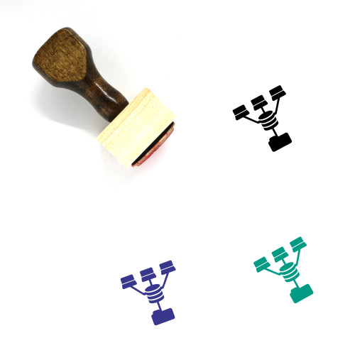 Document Store Databases Wooden Rubber Stamp No. 2