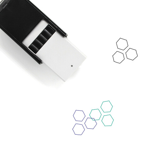 Molecules Self-Inking Rubber Stamp No. 42
