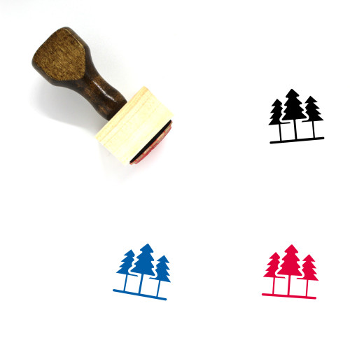 Jungle Wooden Rubber Stamp No. 2
