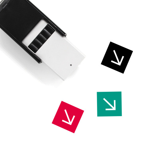 Bottom Right Self-Inking Rubber Stamp No. 40