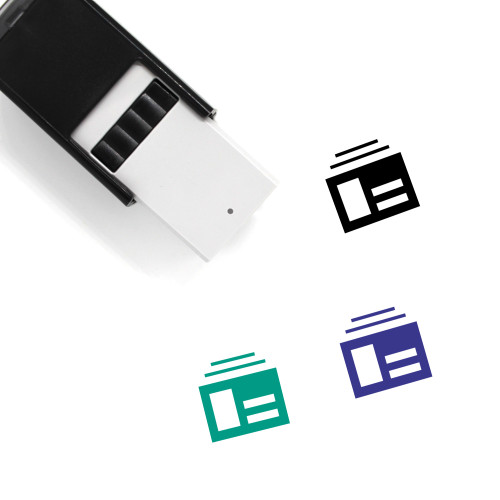 Account Self-Inking Rubber Stamp No. 199