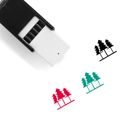 Jungle Self-Inking Rubber Stamp No. 2